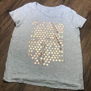 a new day Tops - Metallic dots t-shirt